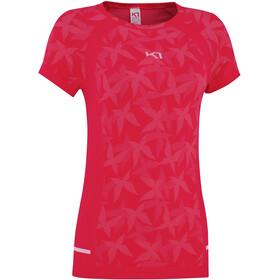 Kari Traa Bttrfly T-shirt Damer, rød